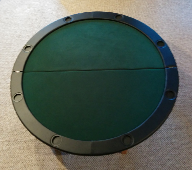 54 square poker table top