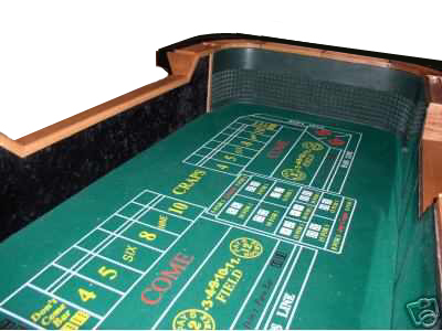 Personal craps table