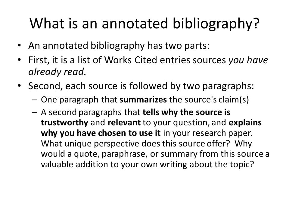 Bibliography Of Websites