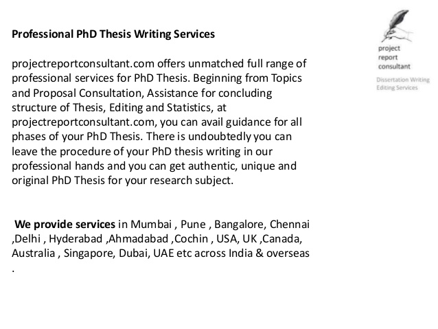 how to write a phd research paper