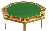 52 Quot 60 Quot Xl Octagon Folding Poker Table 239 399 5 Felt